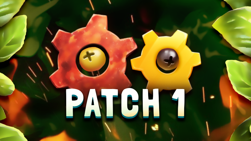 Pizza Patch #1 available now!🍕