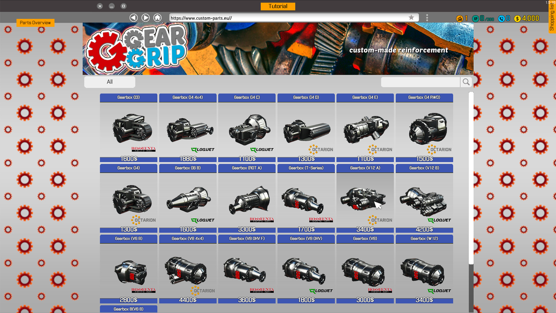 Car Mechanic Simulator 2018 :: Custom Gearboxes + Sandbox + Pagani