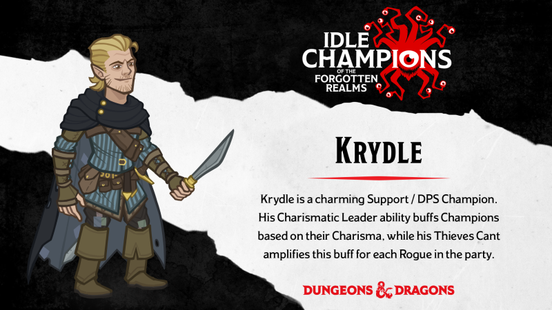 Idle Champions Of The Forgotten Realms Champion Spotlight Krydle Steam News