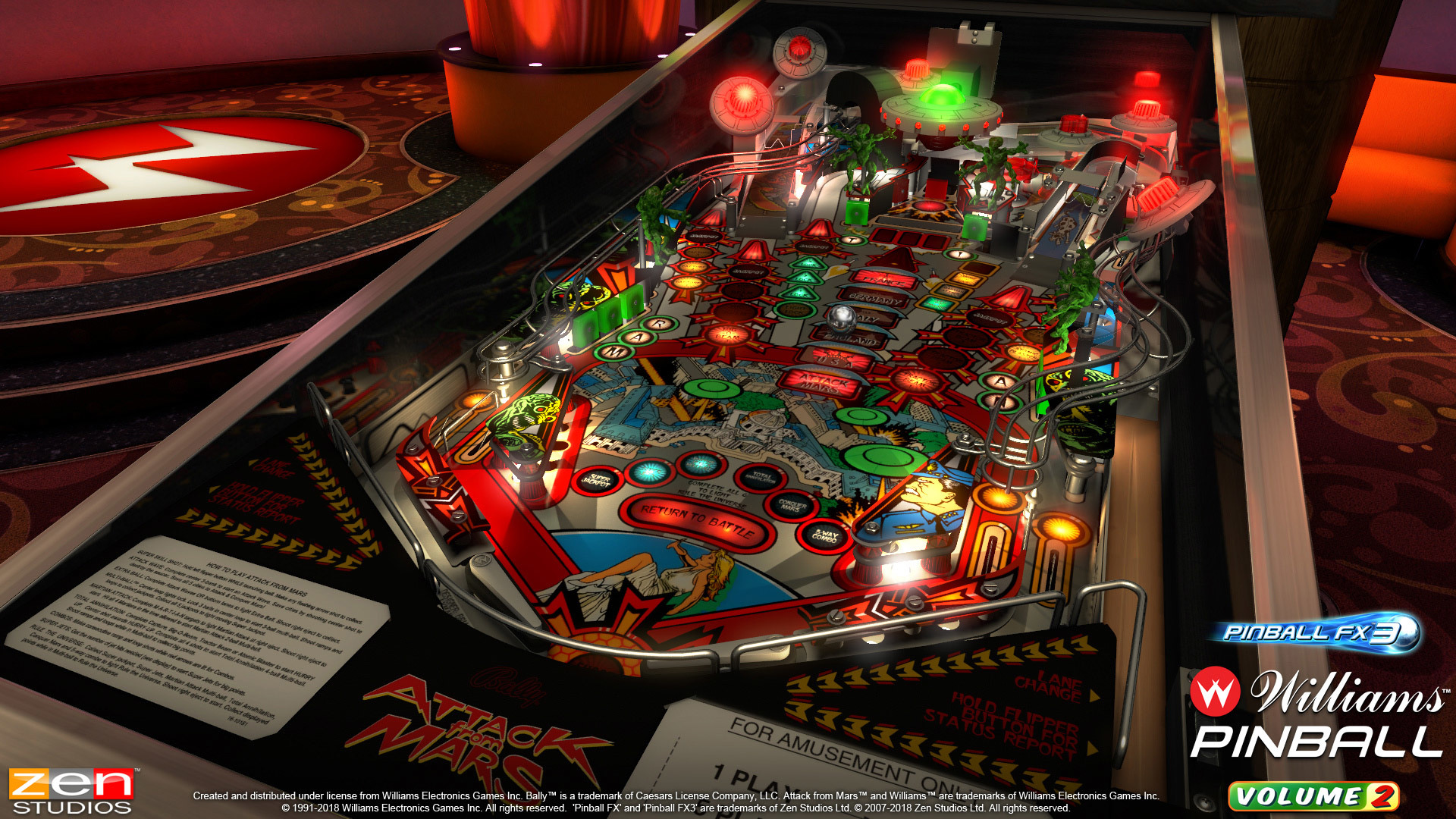 Pinball FX3 :: Bally favorites The Party Zone, Black Rose and Attack