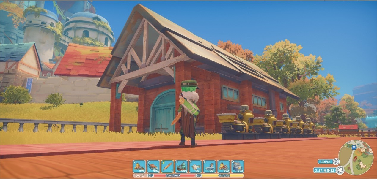 my time at portia upgrade scanner