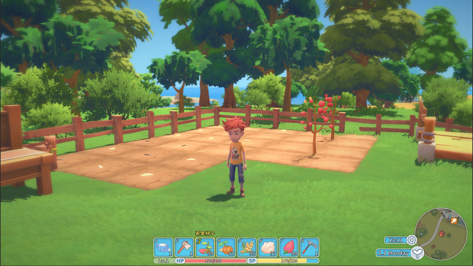 My Time At Portia :: Farming - To be or not to be?