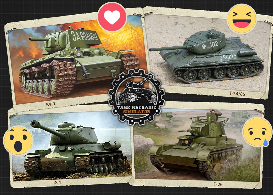 Tank Mechanic Simulator :: Tank Vote - Soviet tank