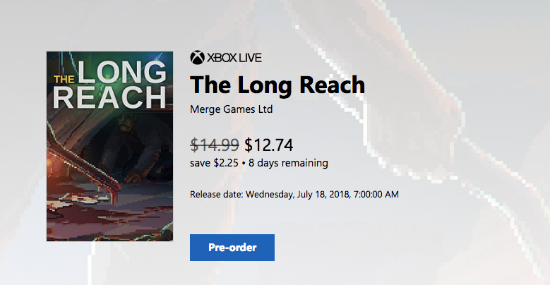 The Long Reach :: Pre-order: The Long Reach for Xbox One is 15% off!