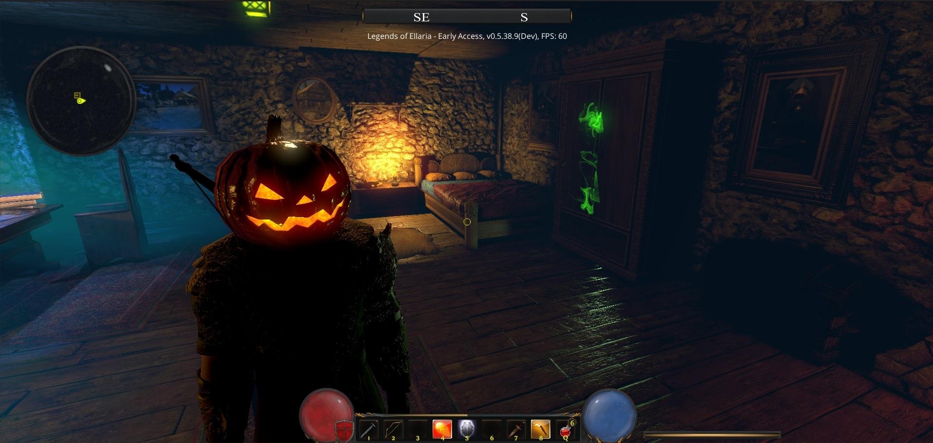 Legends of Ellaria :: Halloween is here!