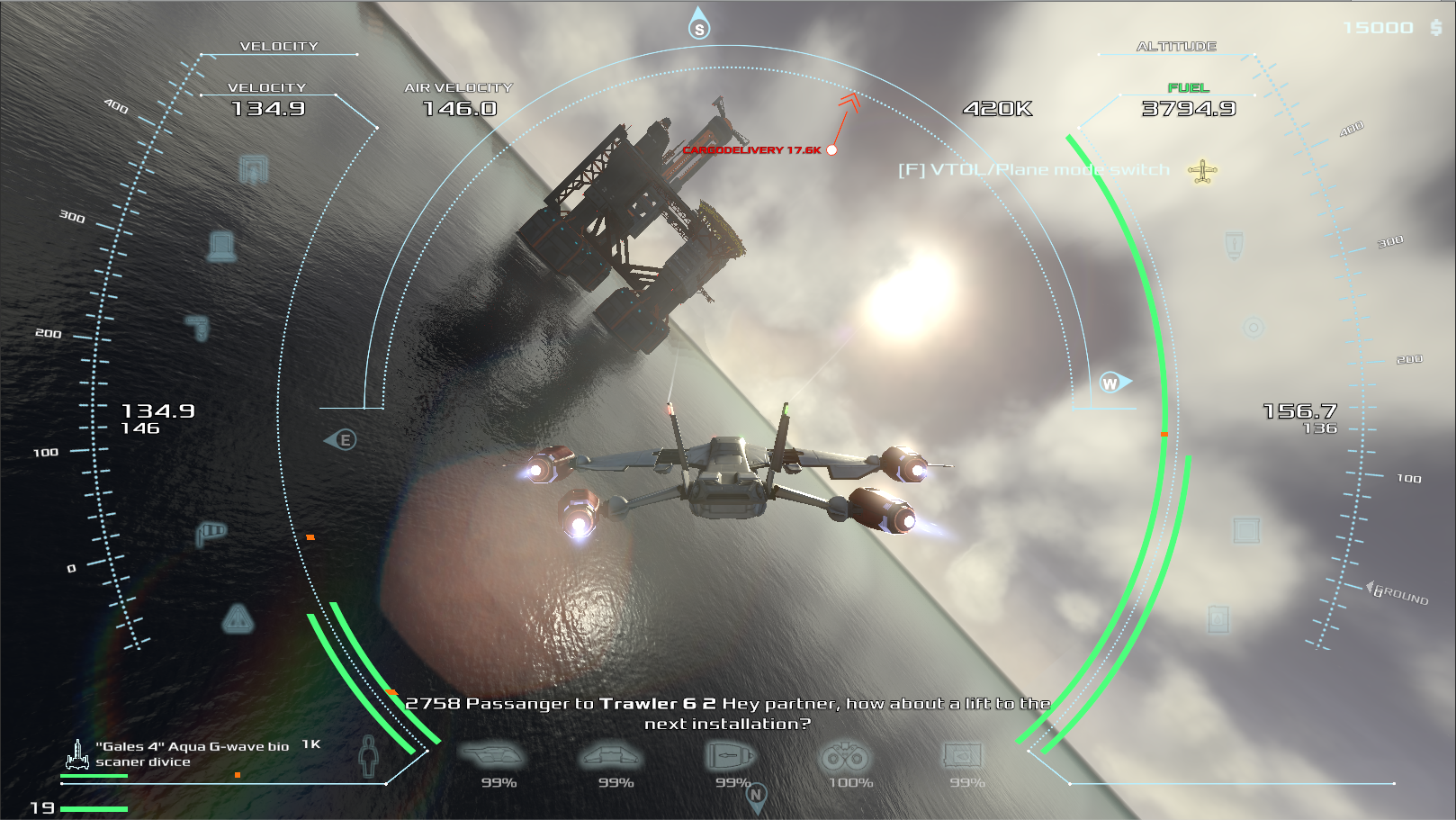 Frontier Pilot Simulator :: Update Vol  5! You will say WOW