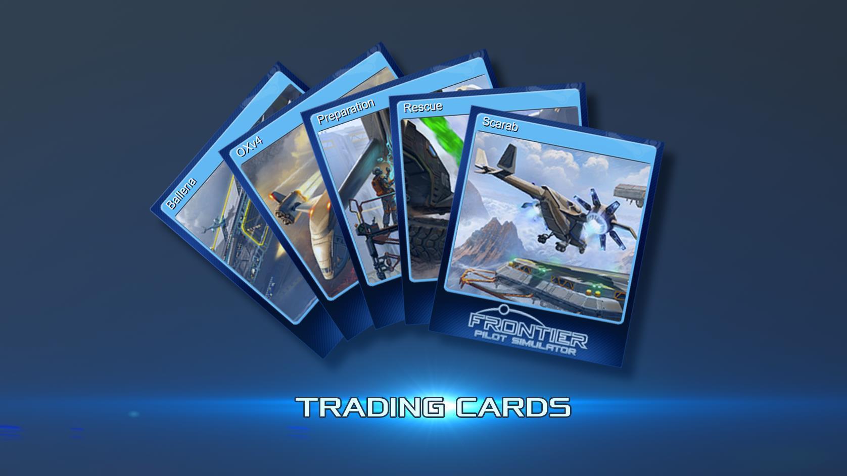 announcement  u2013 stream  trading cards  updates  u2013 frontier