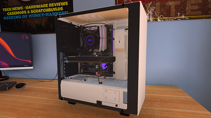 PC Building Simulator Update V0.8.2   A Case Full Of Bug Fixes!