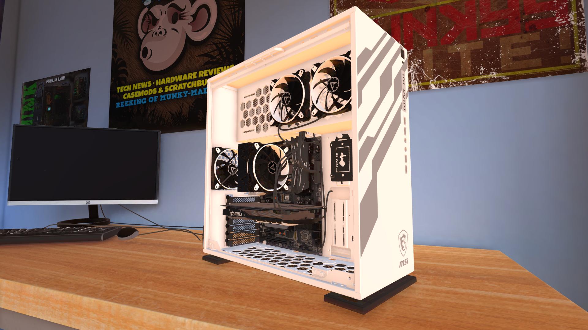 PC Building Simulator :: In Win's 303-MSI Dragon Edition is