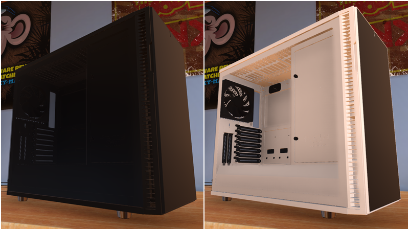 Steam Pc Building Simulator Pc Building Simulator Update V0 8 4 Fractal Design Joins Us,Design Of Machinery 5th Edition