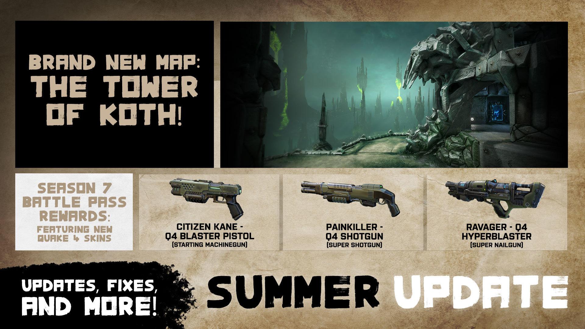 Quake Champions Summer Update