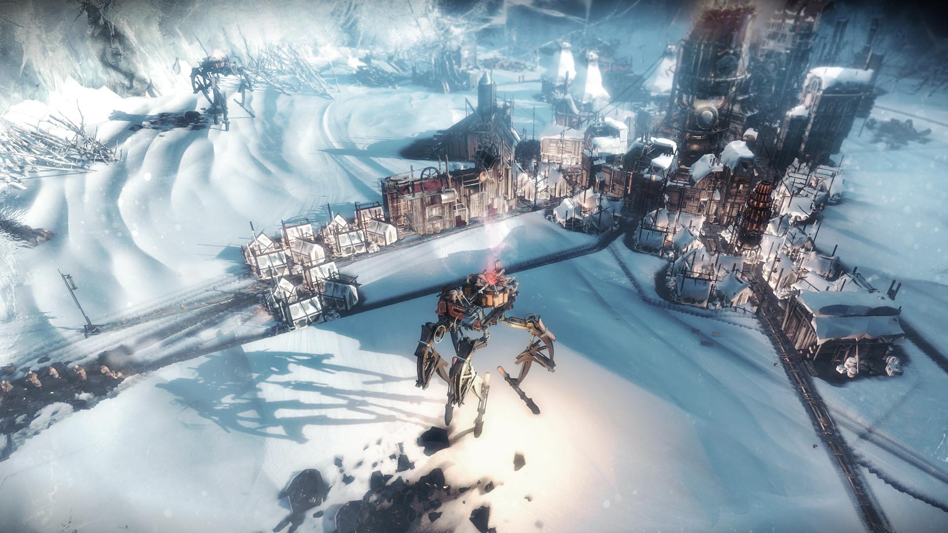 Frostpunk 2018 Game Wallpapers: Frostpunk On Steam