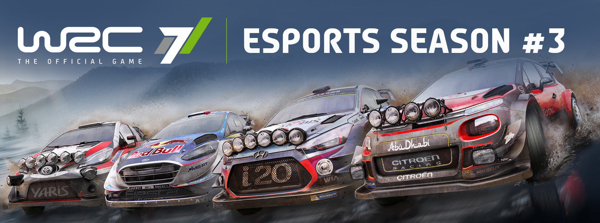 WRC 7 :: eSports WRC season #3 starting soon!