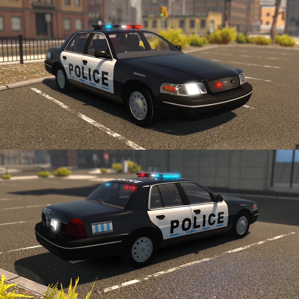 Flashing Lights :: UPDATE NOW LIVE   2 New Police Cars, 1