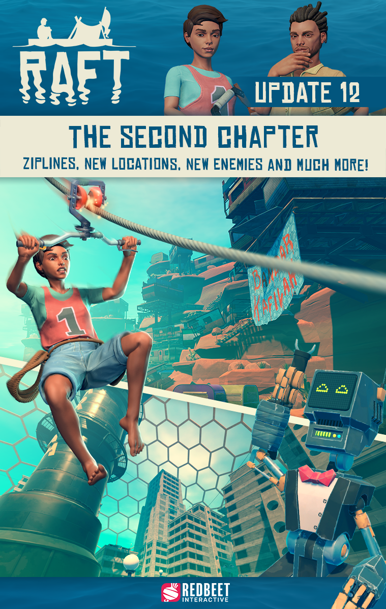 UPDATE 12: The Second Chapter - Out NOW!