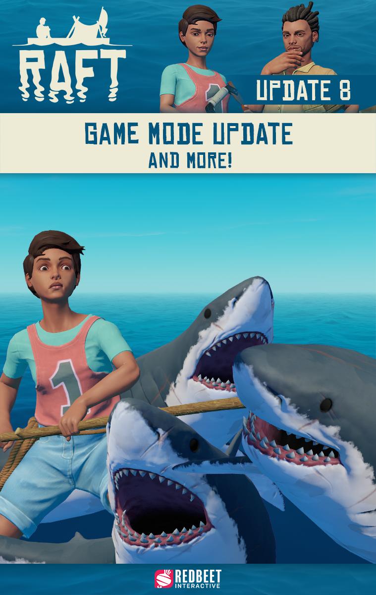 Raft Game Plot