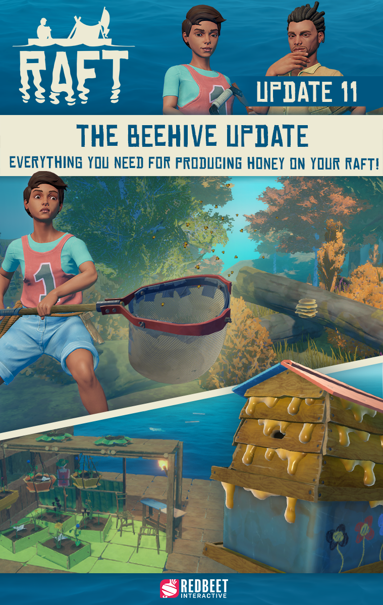 Update 11: The Beehive Update - Out Now!