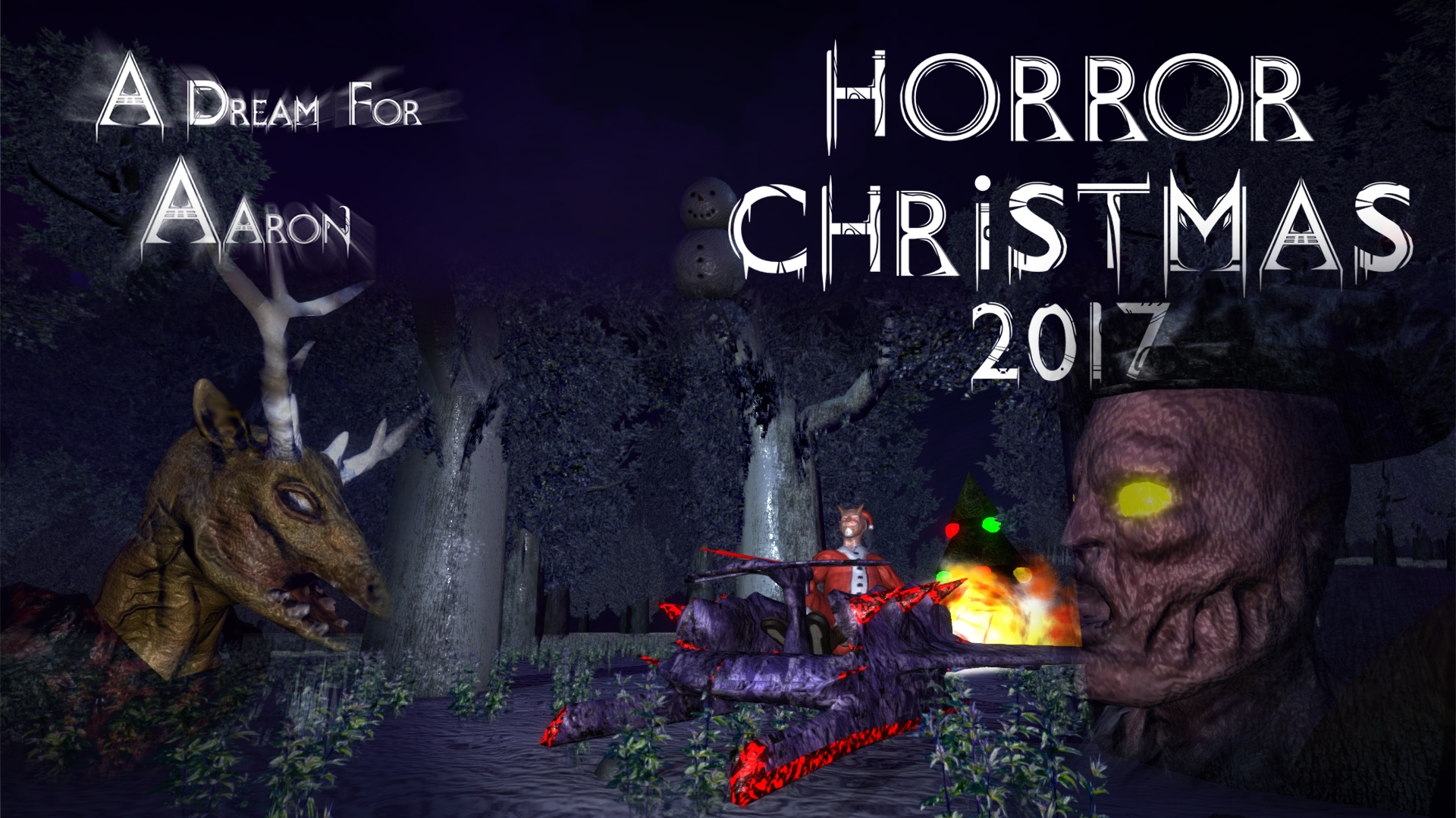 a dream for aaron v140 is out horror christmas update - A Dream For Christmas