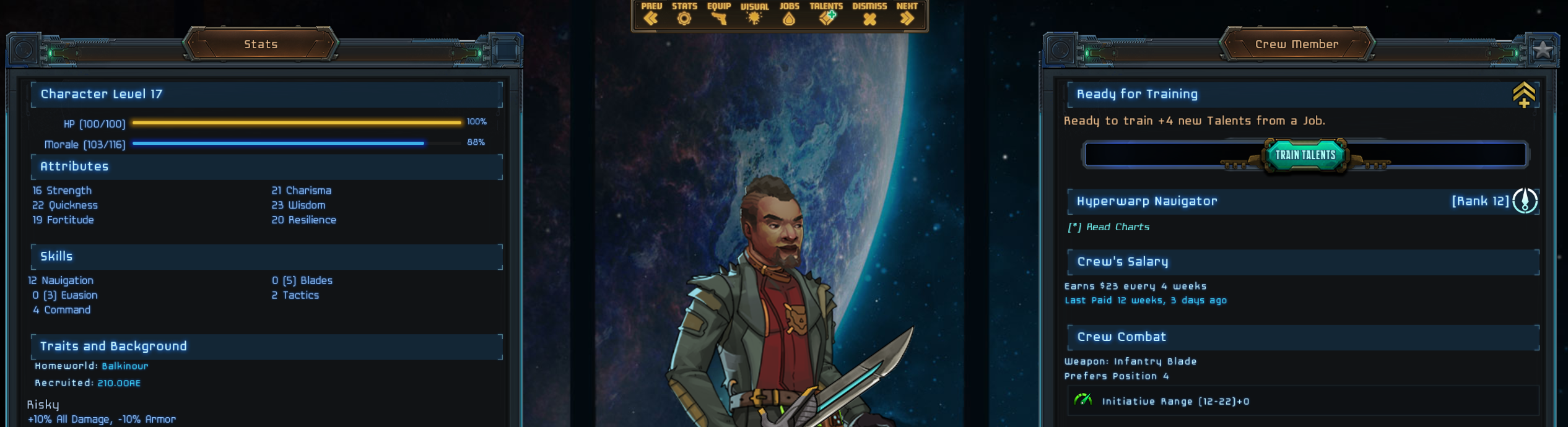 May 12 Update #149: Wayfinder's Command Star Traders