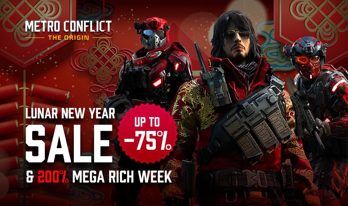 metro conflict the origin lunar new year sale