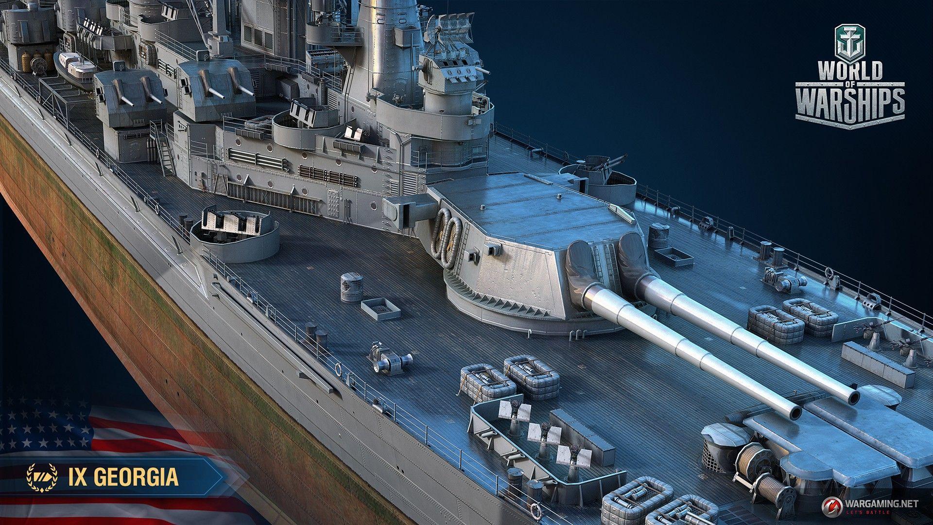 Jun 14 Armada: Georgia World of Warships - WoWs Admiral