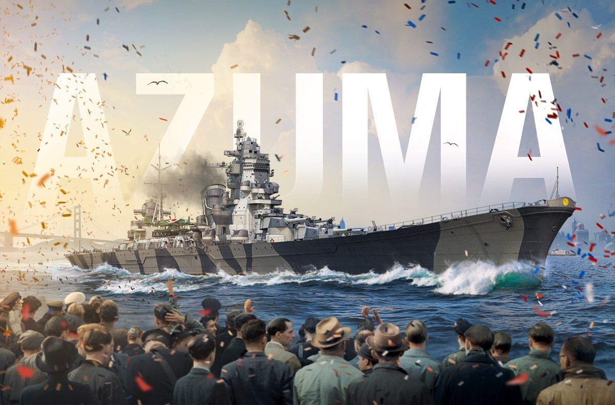 World of Warships :: Armada: Azuma