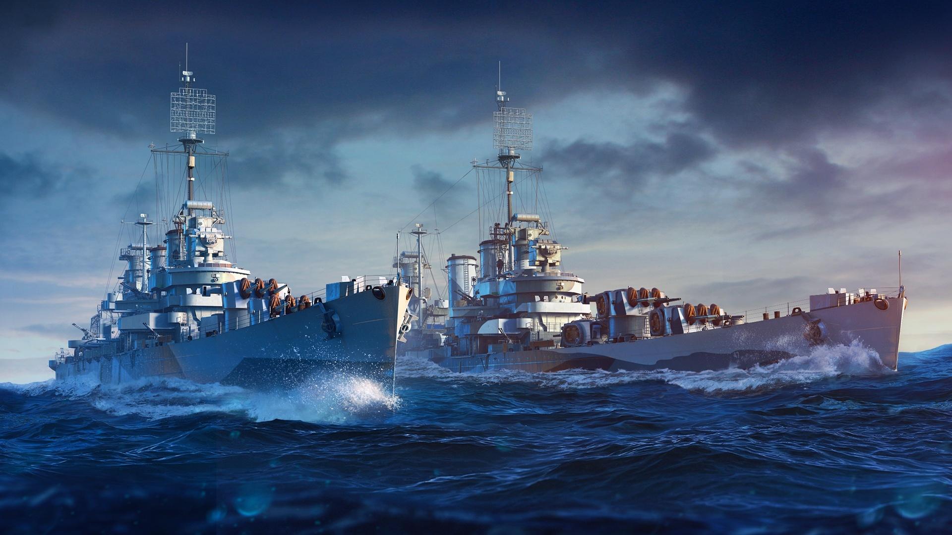 World of Warships :: [Premium Shop] Nueve de Julio and Boise