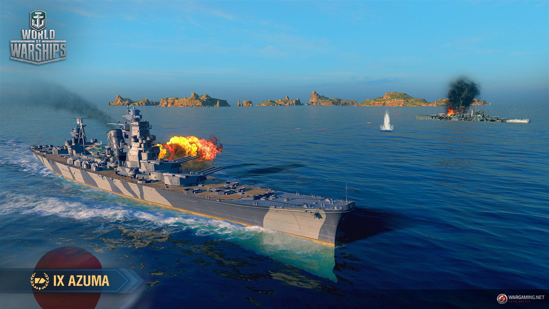 World of Warships :: Armada: Azuma