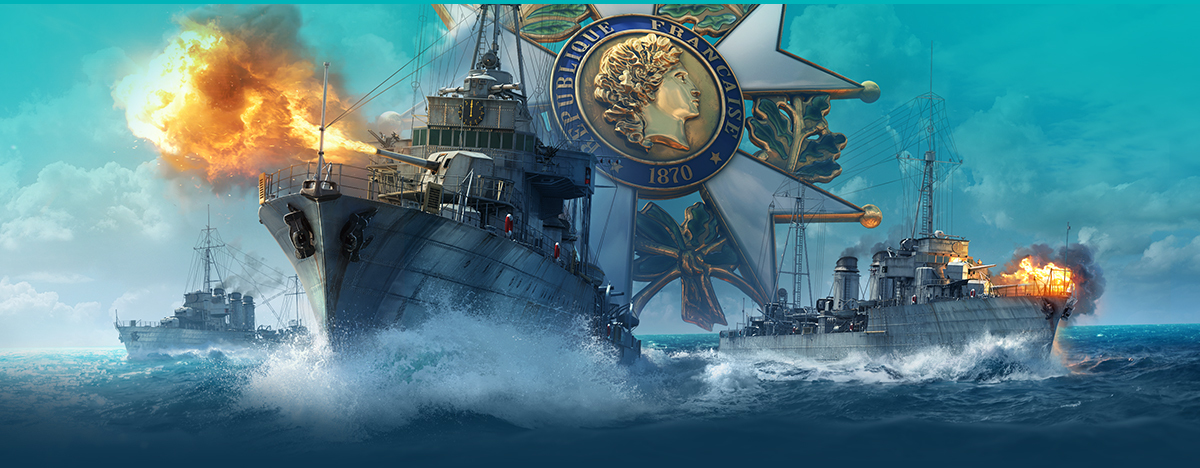 World of Warships :: Update 0 8 6: French Destroyers