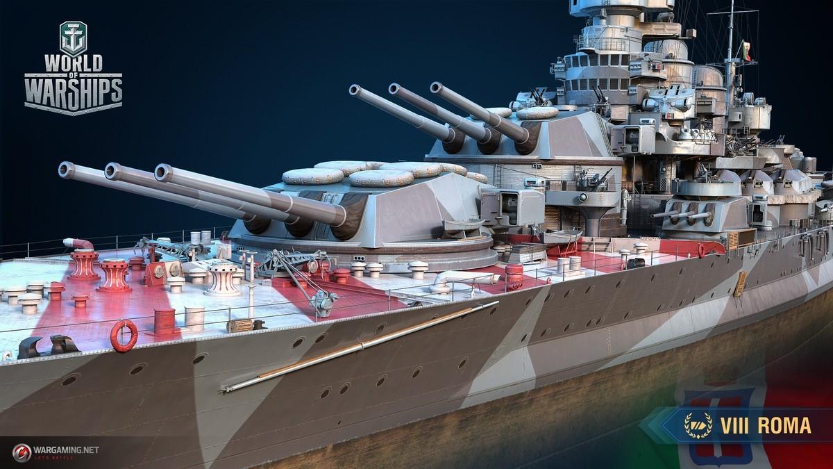 May 20 Armada: Roma World of Warships - WoWs Admiral