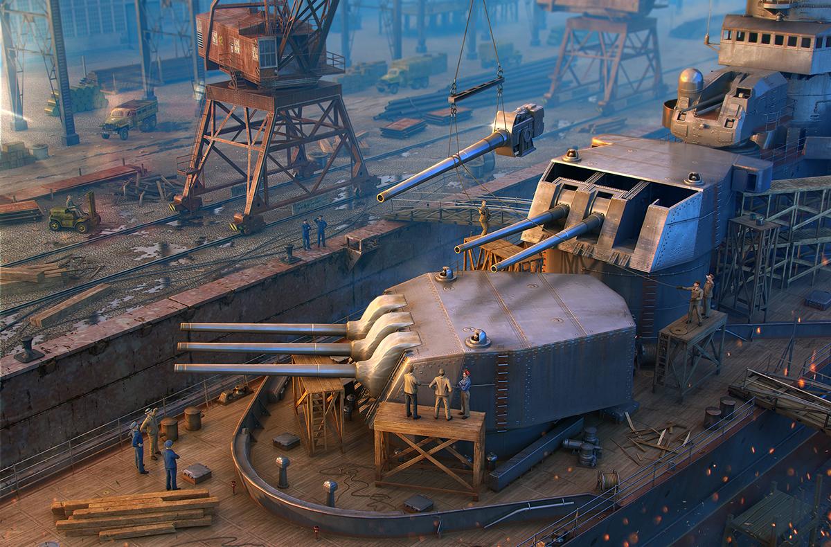 World of Warships :: Server maintenance