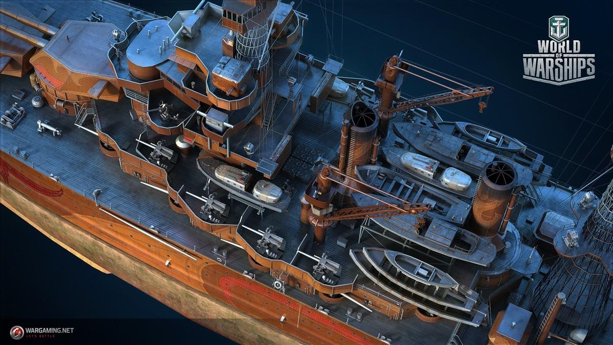 World of Warships :: Premium Shop in November: West Virginia