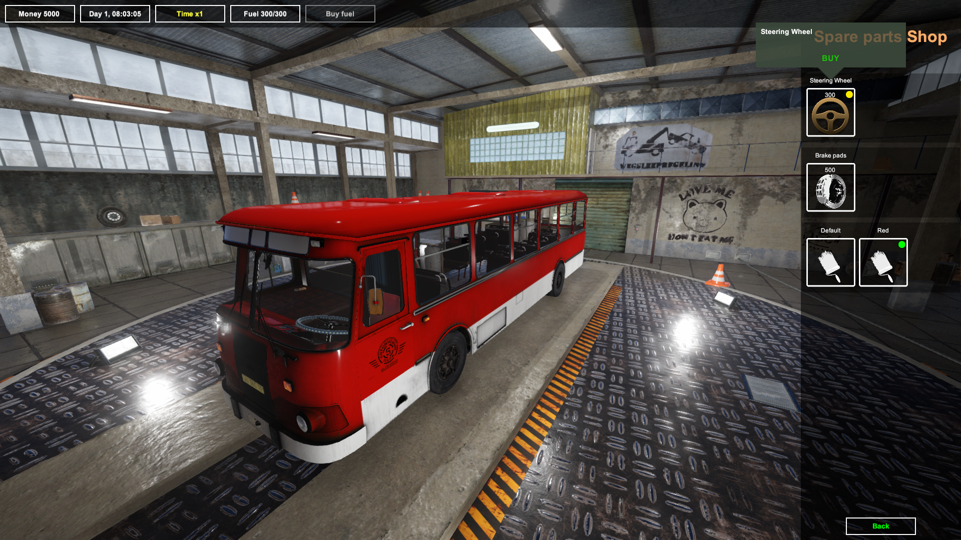 Bus Driver Simulator :: Global update – from Career mode to