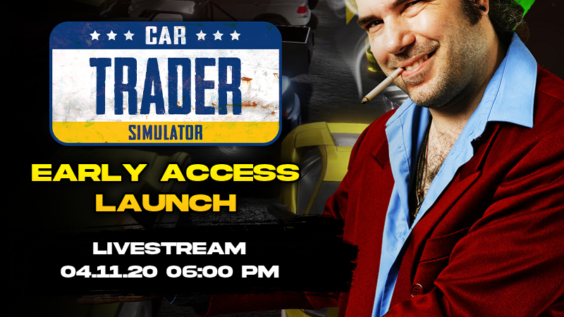 Car Trader Simulator Early Access - Buy now for $9.99!