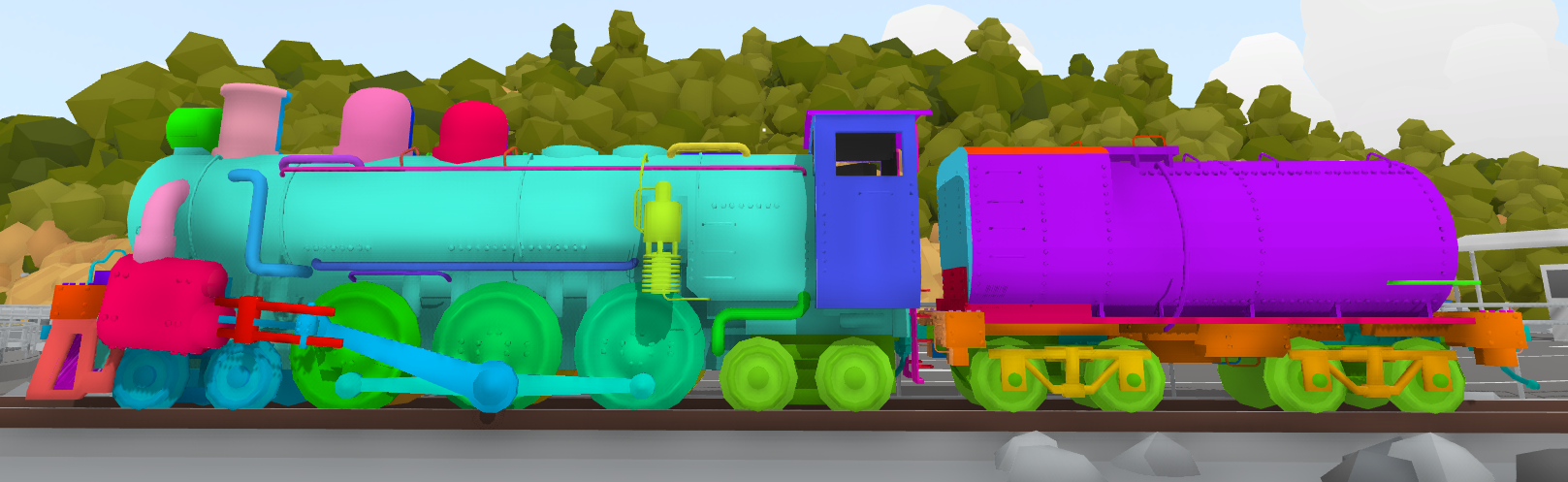 Rolling Line :: Custom liveries for the steam engine! - v1 068