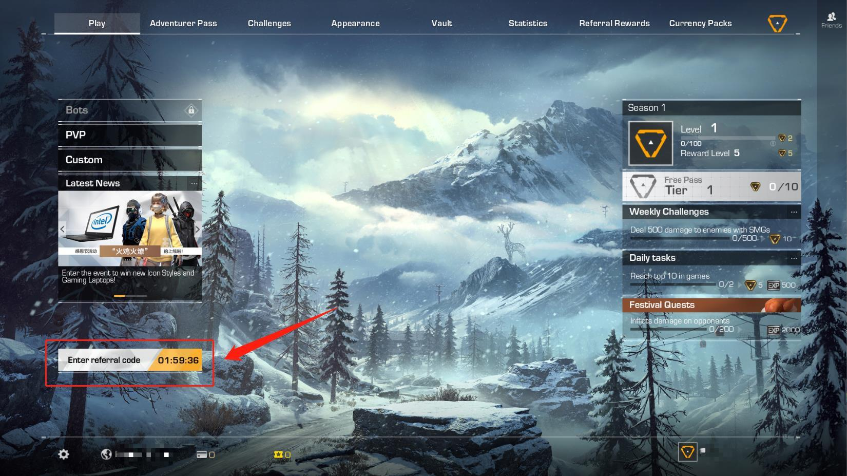 Introducing Refer-A-Friend System! :: Ring of Elysium General