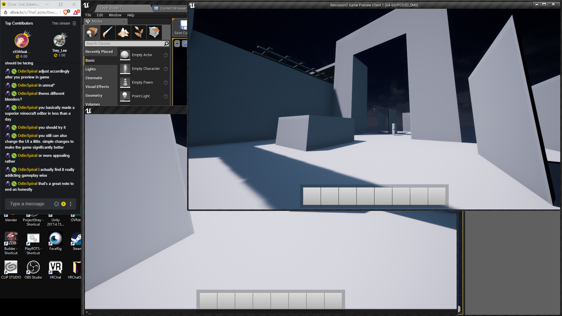 Revulsion :: Revulsion 2 multiplayer in game level editor thoughts