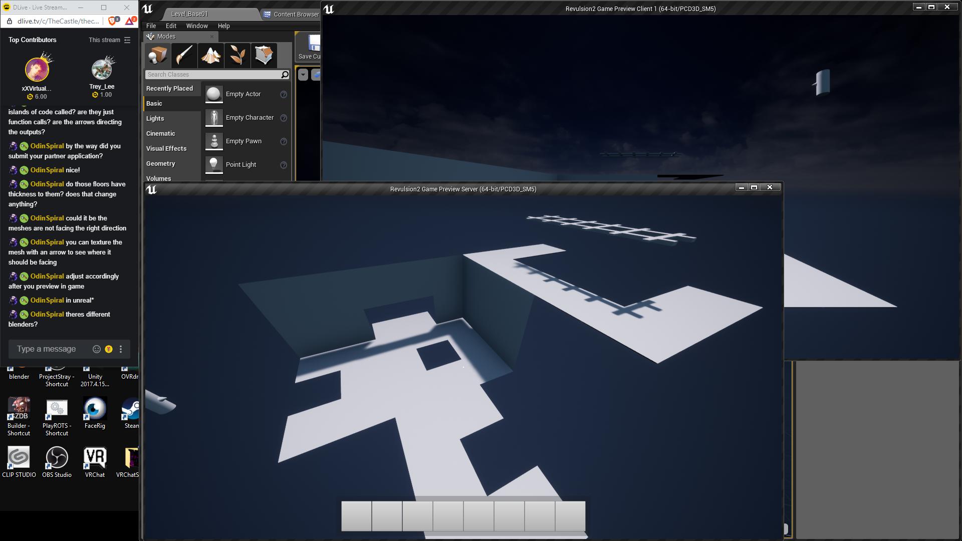 Revulsion :: Revulsion 2 multiplayer in game level editor