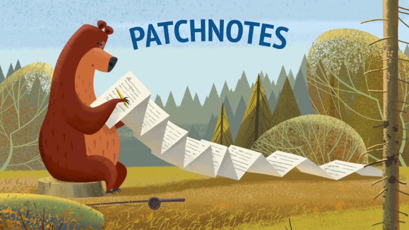Patchnotes 08/09/2020
