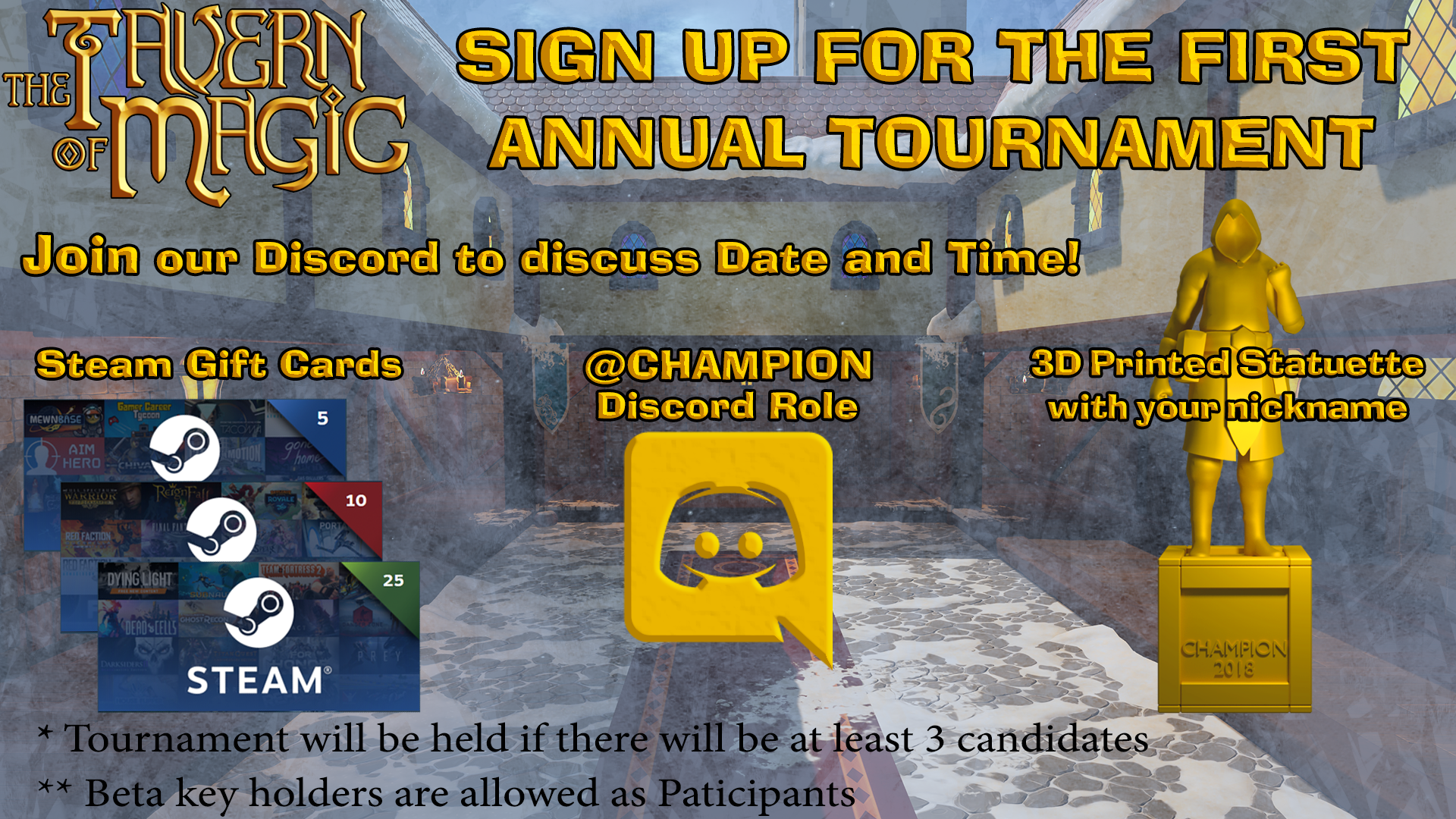 The Tavern of Magic :: First Annual Tournament