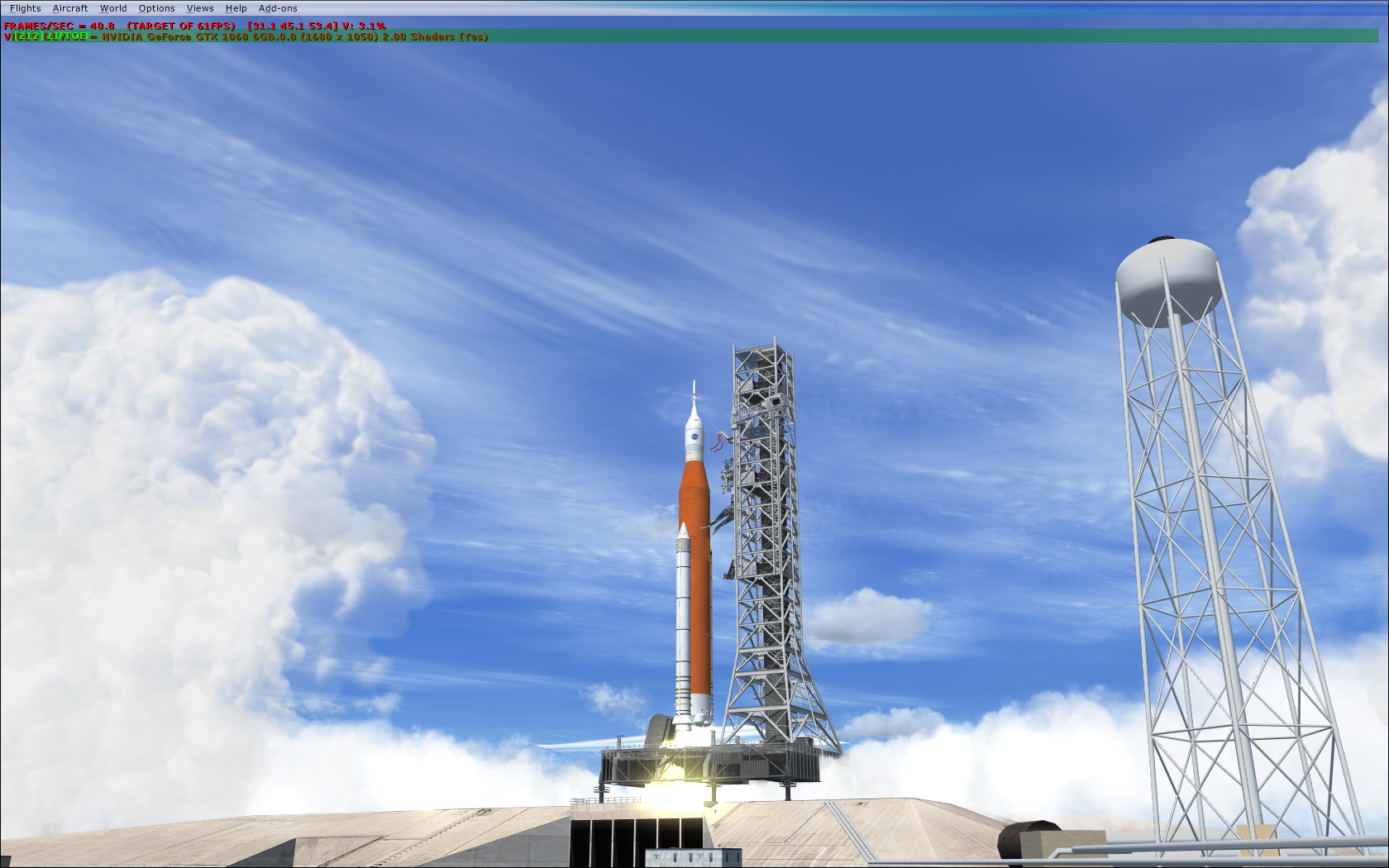 FSX SpacePort :: What's a rocket launch without a proper