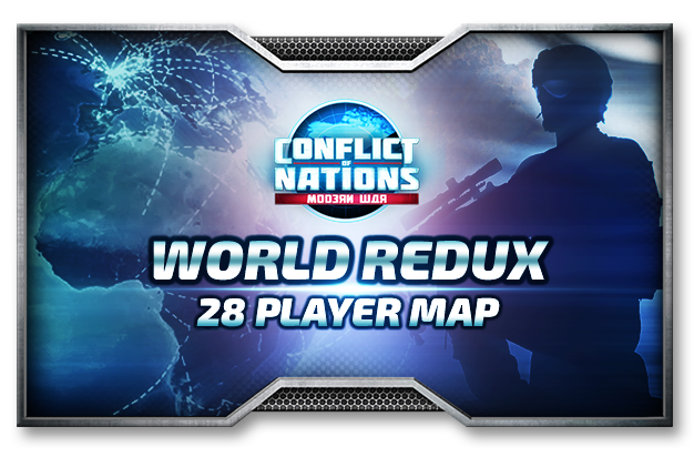 Conflict of nations world war 3 new playable map global redux for todays update we are very happy to announce that we have a brand new global map world redux this comes after popular demand and we are happy to gumiabroncs Gallery
