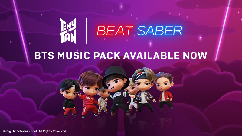 BTS MUSIC PACK FEATURING TINYTAN IS OUT NOW