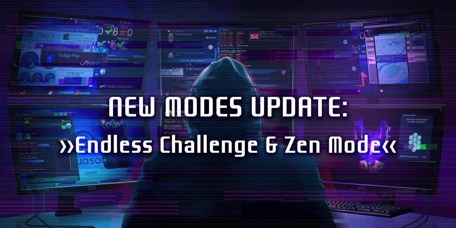 New Modes Update: Endless Challenge & Zen Mode
