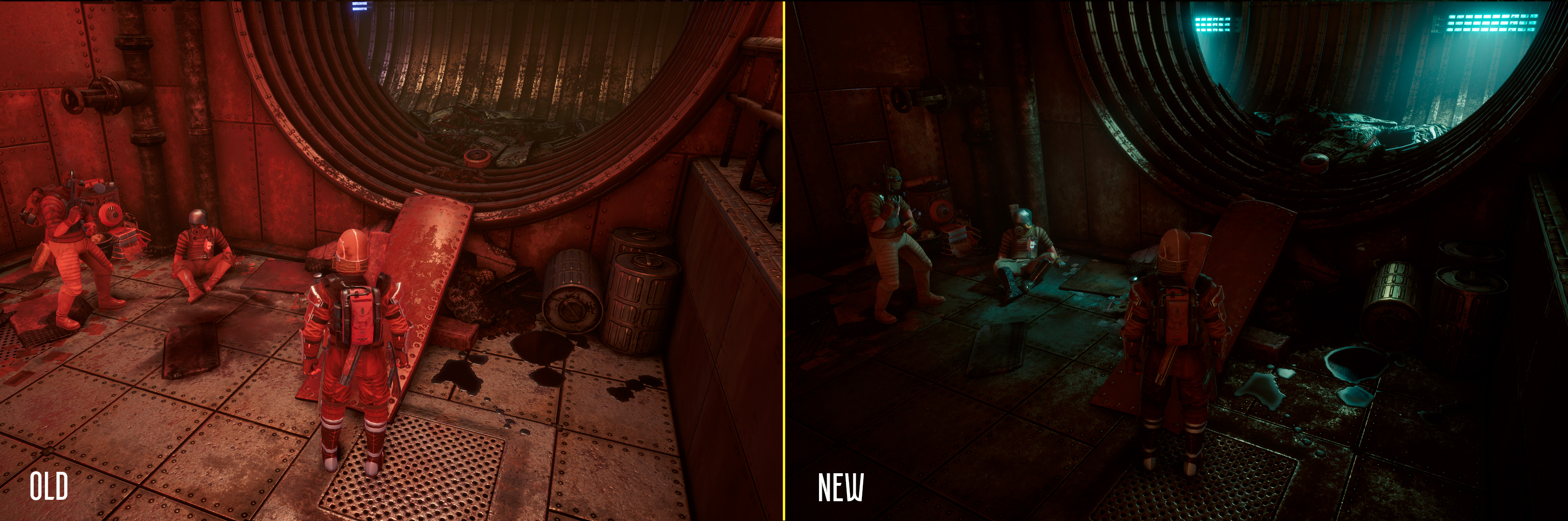 INSOMNIA: The Ark :: Old vs  New: spot the difference