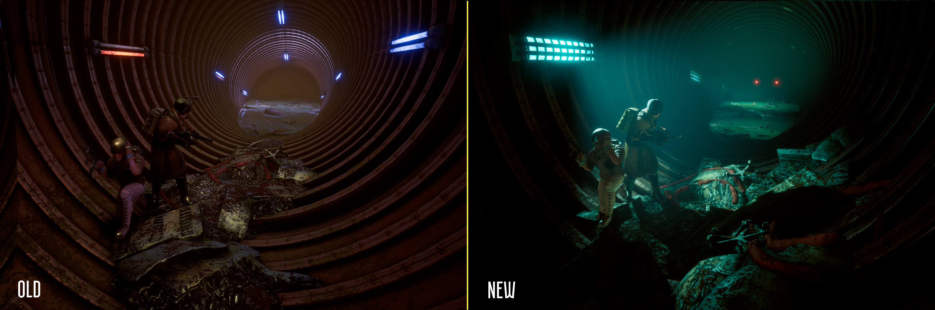 Feb 8 Old vs  New: spot the difference INSOMNIA: The Ark - Vault_13
