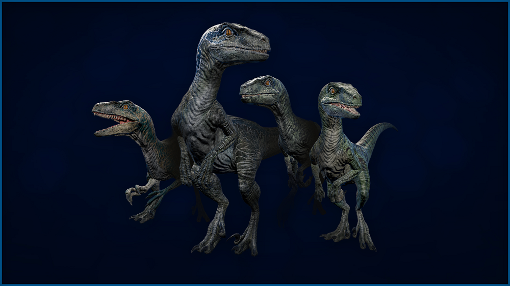 Jurassic World Evolution: Raptor Squad Skin Collection OUT NOW