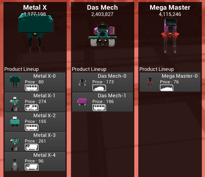 Apr 26 Update #049 : Build 0 5 49 Mechsprofit: Mech Tycoon