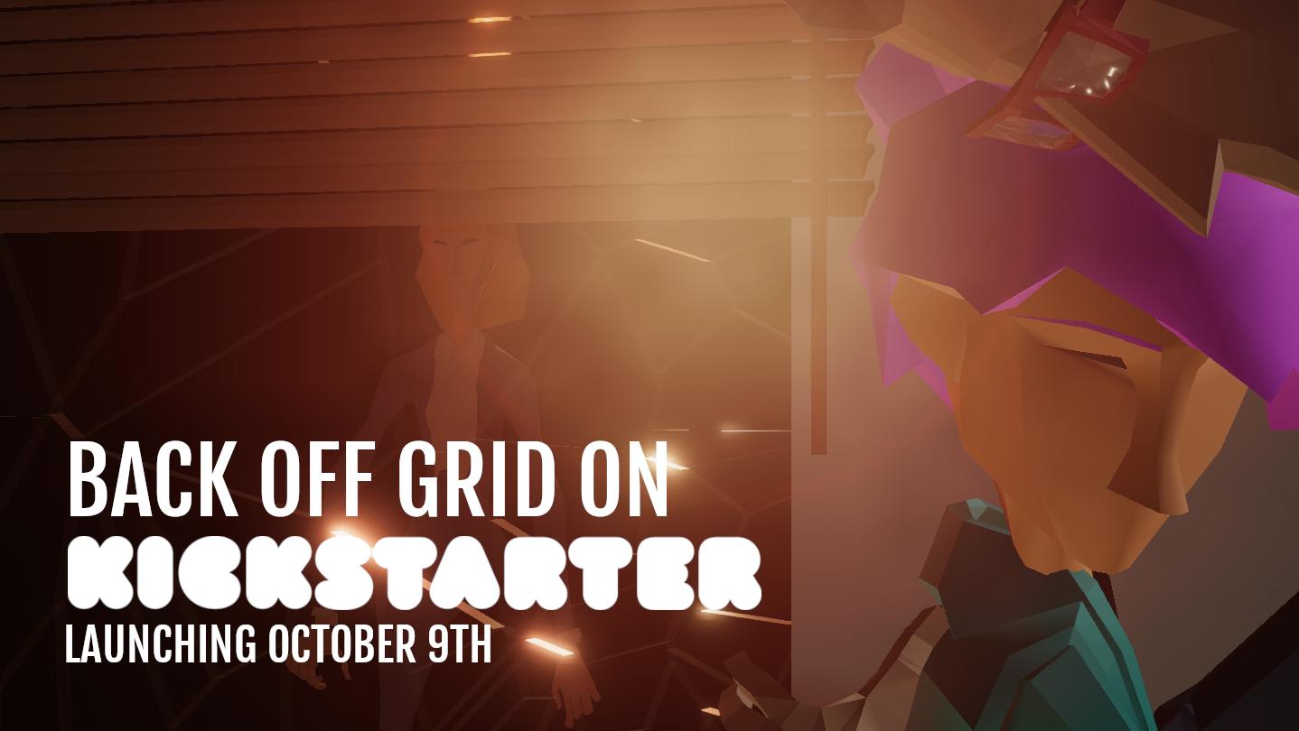 4Pm Bst steam :: off grid :: kickstarting tomorrow!