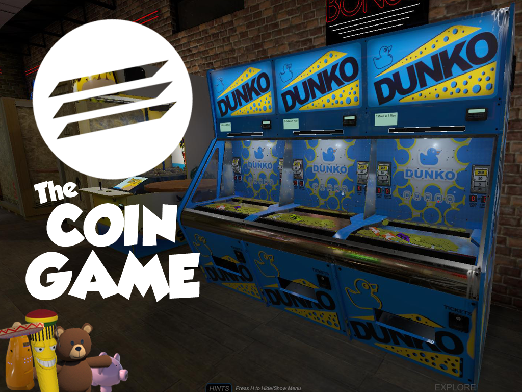The Coin Game :: The Coin Game - Virtual Ticket Redemption Arcade
